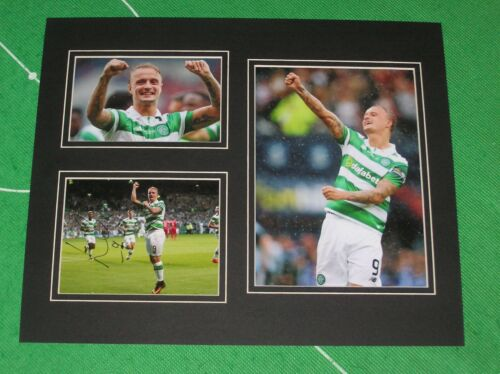 Leigh Griffiths Signed Glasgow Celtic FC 201617 Season Mount