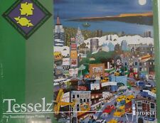 New! Tesslez Jigsaw Puzzle:Moonlight Over Manhattan(Images of Linnea Pergola)