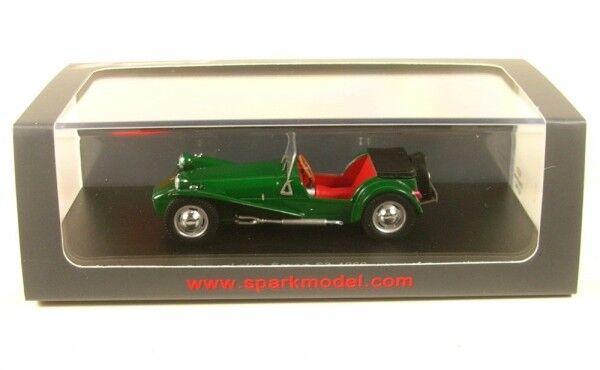 Lotus Seven s2 (dark verde) 1960