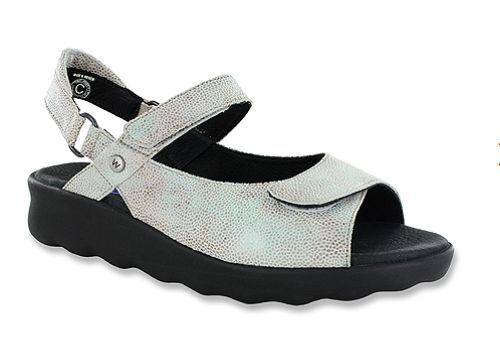 Wolky Pichu Menta Coloreeee Caviar Comfort Sandalo con Cinturino Alla Caviglia