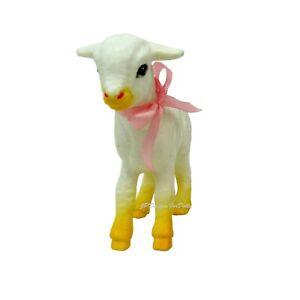 Agressif Barbie Avait Un Petit Agneau Pet Accessoire Pour Jouer Ou Diorama-afficher Le Titre D'origine Limpide à Vue