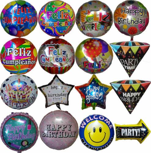 Happy Birthday Feliz Cumpleaños Balloon 1st 16th 18th 21st 30th 40 50th Birthday