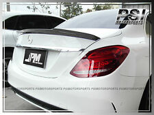 W205 V Style CARBON FIBER TRUNK SPOILER WING 2015+ MERCEDES BENZ C250 C300 4Dr