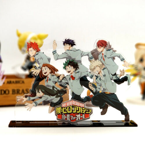 My Hero Academia Izuku Shoto Katsuki Uraraka acrylic stand figure anime toy