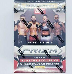 2021 Panini Prizm UFC Debut Edition Blaster Box 6 Packs x 4 Cards (24 Total)