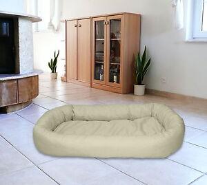 Lit Meggi Ovale pour Chien Sleeping Dog Cushion Panier pour Chat Panier pour Chat Tailles: M-xl
