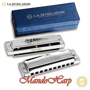 Seydel Harmonica - 16601 1847 Lightning (SELECT KEY) NEW