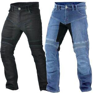 Herren Biker Jeans Hose Herren Motorrad Aramid Hose Biker Textil Hose Neu