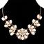Fashion-Women-Rhinestone-Crystal-Choker-Bib-Statement-Pendant-Necklace-Chain-Set thumbnail 11