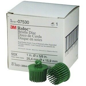 1 inch Scotch-Brite™ 07530 Bristle Disc 07530 7530 50 grit