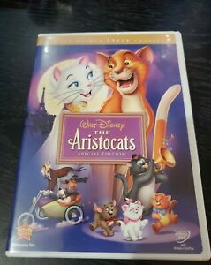 Walt-Disney-039-s-The-Aristocats-DVD-2008-Slip-Cover-Special-Edition