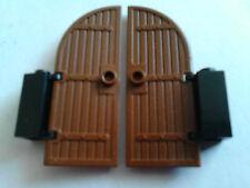 item 2 LEGO 2x BROWN CASTLE DOORS -LEGO 2x BROWN CASTLE DOORS & LEGO Town Formula 1 Pit Stop (2554)   eBay