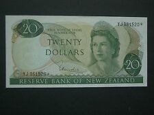 ***Fantastic** NZ Replacement  $20   'GEF'++  Crisp, Bright  Banknote***
