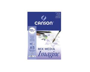 CANSON-Zeichenblock-Skizzenblock-Mix-Media-Imagine-200-g-qm-DIN-A5-50-Blatt