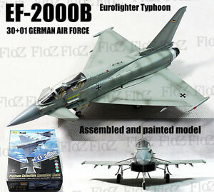 EF2000 B Eurofighter Typhoon GERMAN AIR FORCE 1/72 plane finished