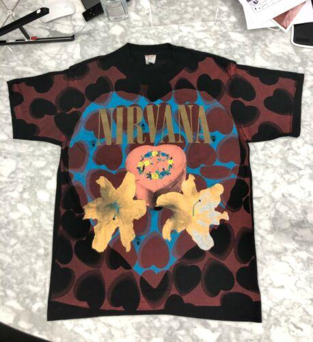 Nirvana Heart Shaped Box Shirt Rare Mint Cond Vint