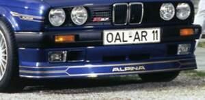 Alpina Decor Set Silver for ALPINA Front Spoiler BMW E28/E30/E24/E34 ...