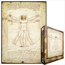 JIGSAW EG60005098 Eurographics Puzzle 1000 Pc Vitruvius Man Leonardo da Vinci