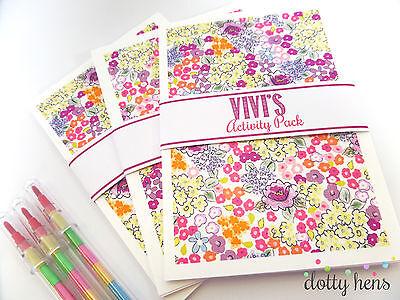 Fashion Style Personalizzata Bambini Wedding Attività Pack Naif Fiore-puzzle Book Favore- Prezzo Di Vendita