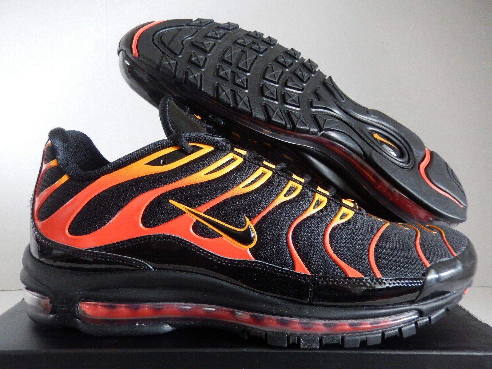 d15646a70d Nike Air Max 97 / Plus Shock Orange Black Engine Ah8144 002 US Mens ...