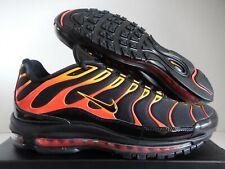 Details about Nike Air Max 97 Plus Black Engine 1 Shock Orange Rise Bullet Shark AH8144 002