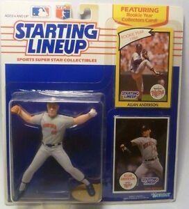 1990 ALLAN ANDERSON - Starting Lineup (SLU) Baseball Figure - MINNESOTA TWINS