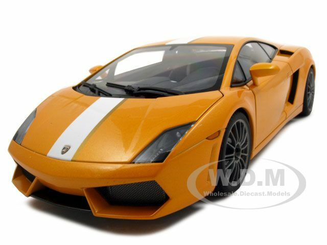 LAMBORGHINI GALLARDO LP550-2 BALBONI arancia 1:18 DIECAST MODEL BY  AUTOART 74633