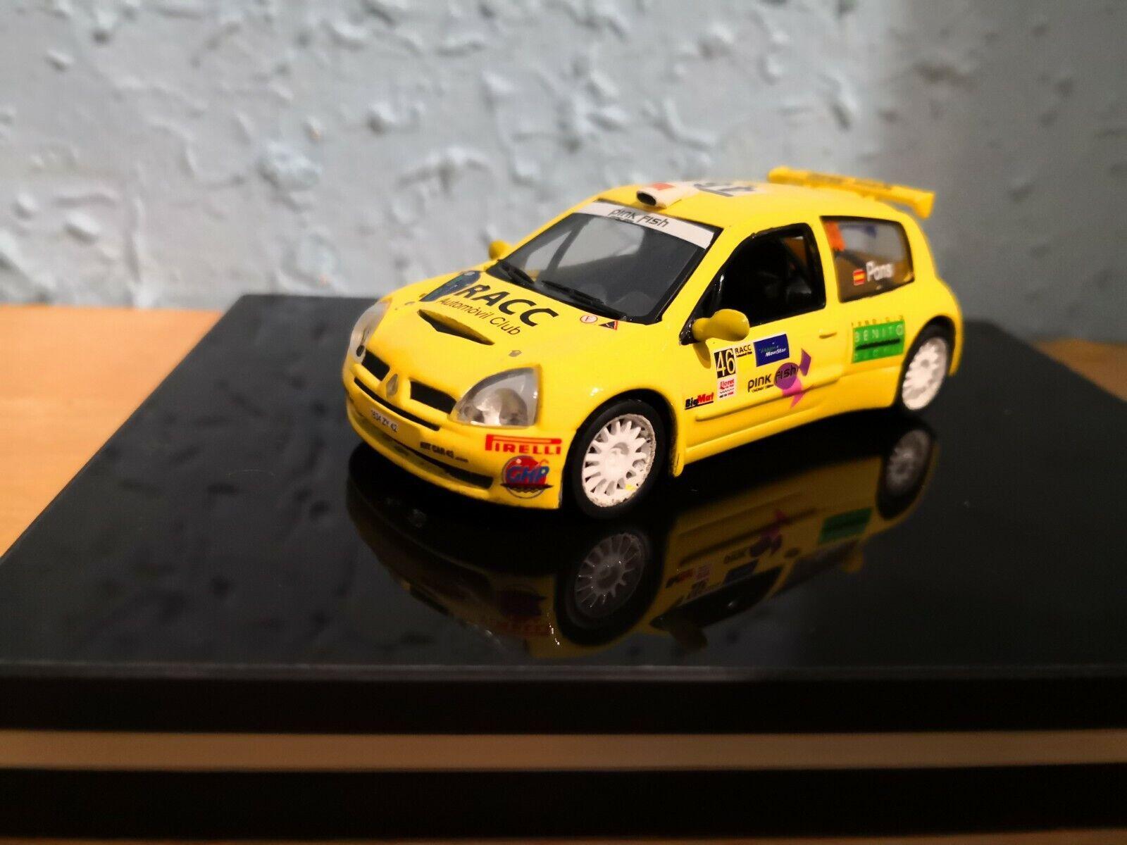 Renault clio s1600 rallye Catalunya transkit 1 43