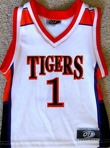 92d9ed42a99 CLEMSON TIGERS TODDLERS NCAA BASKETBALL JERSEY  1 NEW! TODDLERS 2 3 ...