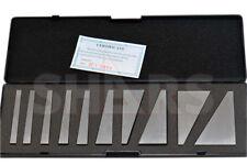 Shars 10 Pcs Machinist Ground Angle Blocks Set 1 30 Degree Hardened A
