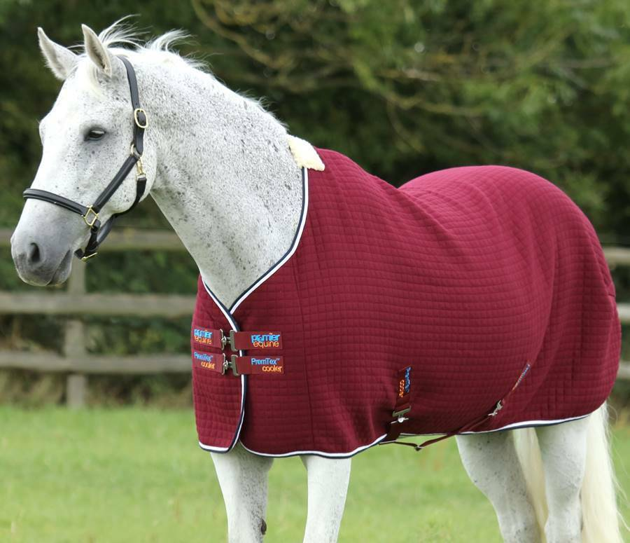 PREMTEX HORSE COOLER RUG - CHOICE OF COLOUR & SIZES