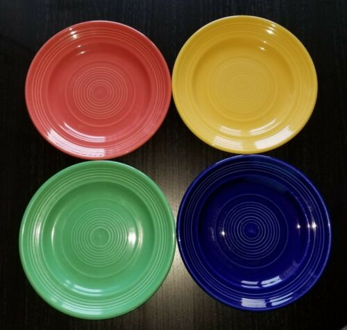 Don Pablo/'s Restaurant Authentic Small Plates Set of 4 Red Yellow Green Blue