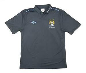 Manchester City 2011-12 ORIGINALE POLO (eccellente) XL soccer jersey