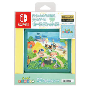 MAXGAMES Card Pocket 24 Animal Crossing New Horizons Nintendo Switch Card Case