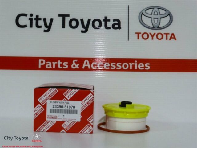 New Toyota Genuine Fuel Filter- Landcruiser VDJ76/78/79 VDJ200 2339051070