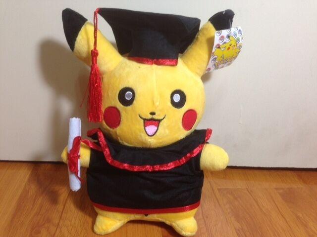 Pokemon Pikachu Plush     Graduation Plush   12  Nice Gift fe6f8e