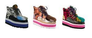 Irregular-Choice-039-Chilli-Hot-039-Lace-Up-Platform-Ankle-Boots-Shoes-Platforms