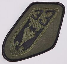 Luftwaffe Aufnäher Patch JaBoG 33 - TaktLwG 33 (Oliv) ........A2638K