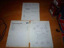 Genuine Ford Body Repair Manual Ford Probe 1993 -1994
