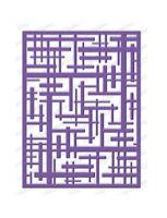 Geometric Lines Background Die-impression Obsession/io Stamps (die449-yy)