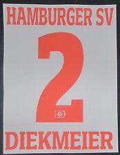 HSV Hamburger SV DIEKMEIER Player Flock 25 cm fürs adidas Home Trikot 2016-2017
