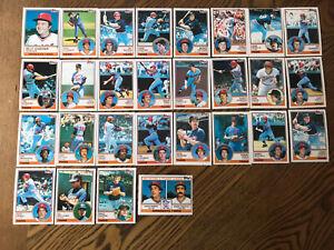 1983-MINNESOTA-TWINS-Topps-COMPLETE-Baseball-Team-SET-28-Cards-HRBEK-VIOLA-WARD
