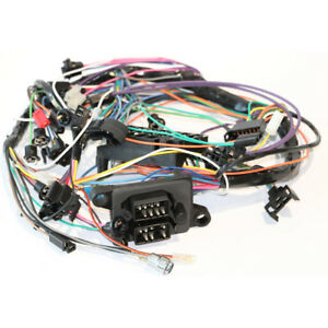 image is loading 67-gto-dash-wiring-harness-column-shift-automatic-