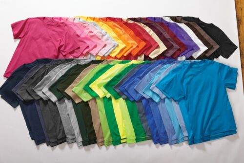 BULK LOT OF 10 TEE SHIRTS TSHIRTS MIXED COLORS GRAB BAG T SHIRTS T-SHIRTS USA
