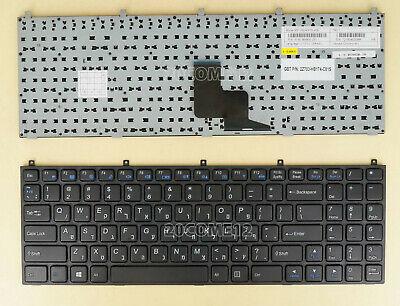 For Clevo W270EGQ W270ELQ W270EUQ w860CU w86CU w870CU Keyboard Frame Hebrew