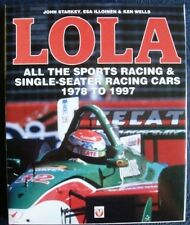 LOLA ALL THE SPORTS RACING & SINGLE-SEATER RACING CARS 1978 - 1997 CAR BOOK