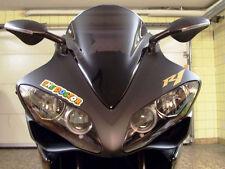 Blinkerspiegel f. Yamaha YZF R1 2000-2008 von FAR schwarz 7037