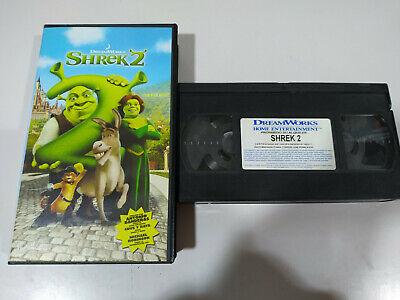 Shrek 2 Dreamworks Vhs Tape Spanish 5050583014487 Ebay