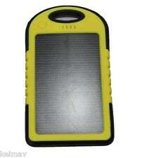20800mAh LED Solar Power Bank (Yellow)