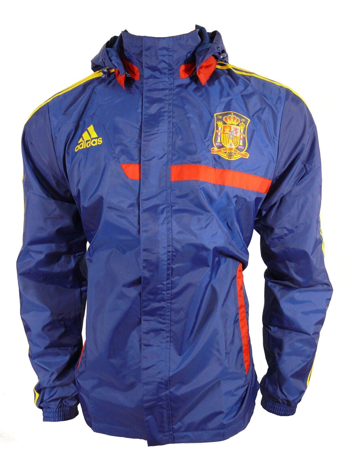Adidas Spanien FEF Regenjacke Jacke    Gr.S-M (5) d0340b